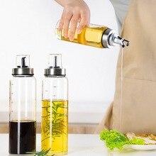 Диспенсер для масла, бутылка для приправ, бутылка для соуса, стеклянная бутылка для хранения масла, уксуса, кухонные принадлежности для приготовления пищи
