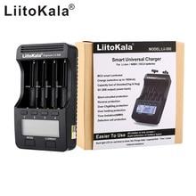 Liitokala lii 500 lcd 3.7v/1.2v aa/aaa 18650/26650/16340/14500/10440/18500 carregador de bateria com tela + 12v2a adaptador lii500 5v1a