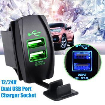 Car Charger for iPhone Mobile Phone Handsfree FM Transmitter Bluetooth Car Kit LCD MP3 Player Dual USB Car Phone Charger image