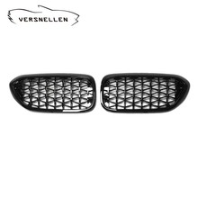 New diamond style grill For BMW NEW 5 series G30 G38 2018+ Racing Grills Front Kidney Grille Three styles