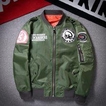 2020 novos chaquetas de estilo aviador para homem, xadrez de lujo com estampado de calavera y béisbol, M-3XL
