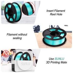 Image 5 - SUNLU di Seta 1.75 MILLIMETRI Pla Filamento 1kg 1.75 millimetri di seta Stampante 3d Filamento per 3D Pieno di Seta di colore Fialment per il FAI DA TE materiale illustrativo di stampa