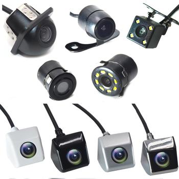 BYNCG tylna kamera samochodowa 4 widzenie nocne LED cofania Monitor automatycznego parkowania CCD wodoodporna 170 stopni HD wideo tanie i dobre opinie Szkło Drutu Pojazd backup kamery Z tworzywa sztucznego piece 0 18kg (0 40lb ) 17cm x 11cm x 6cm (6 69in x 4 33in x 2 36in)