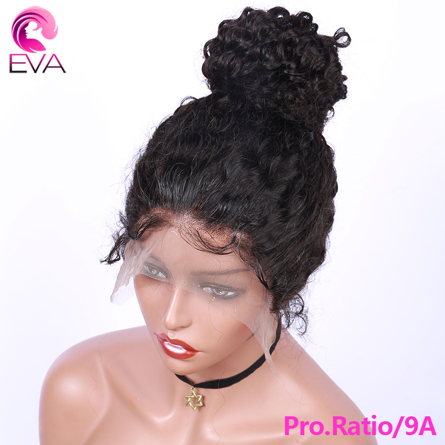 Eva Hair Pro.Ratio 150% Deep Wave Full Lace Human Hair Wigs Pre Plucked With Baby Hair Brazilian Remy Hair Wigs For Black Women