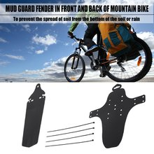Ultra Lightweight Bicycle Mudguard Easy To Install MTB Mud Guards Wings For Front Rear Fenders Bike Parts Hot