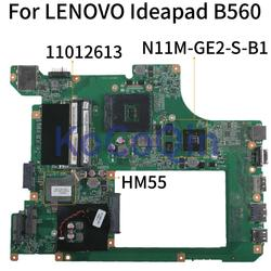KoCoQin placa base de computadora portátil para LENOVO Ideapad B560 HM55 placa base 11012613-10203-1 LA56 MB 48.4JW06.011 N11M-GE2-S-B1