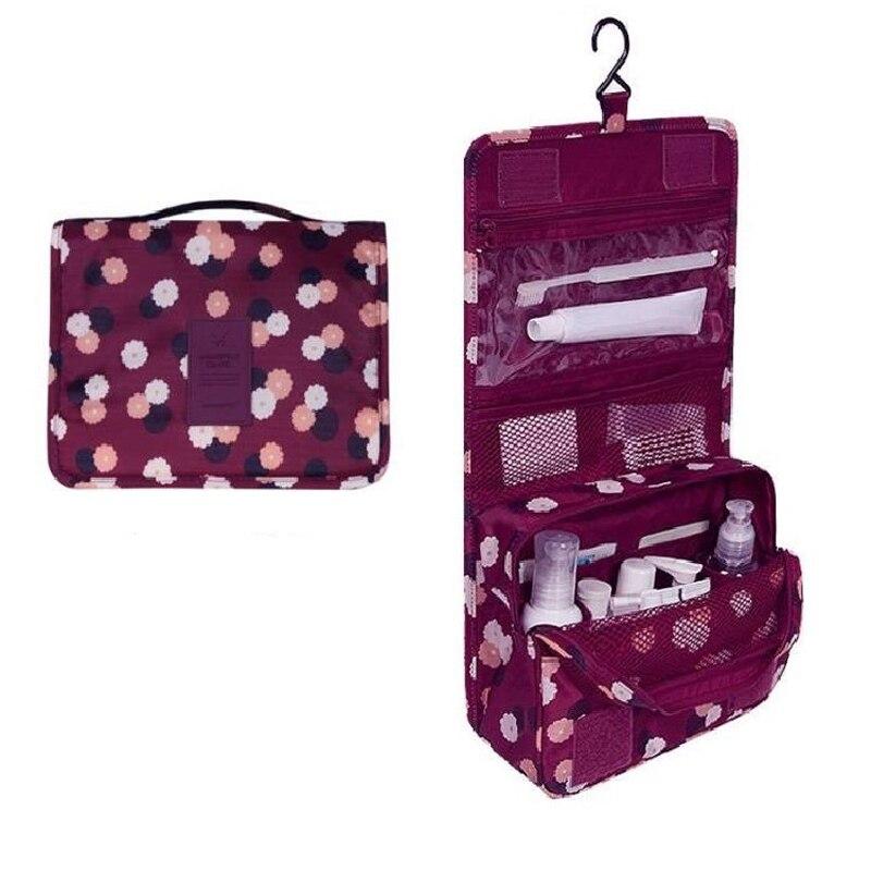 Cartoon Waterproof Cosmetic Bag Girl Suitcase Storage Bag Portable Ladies Wash Bag Cosmetics Sanitary Pads Set Accessories