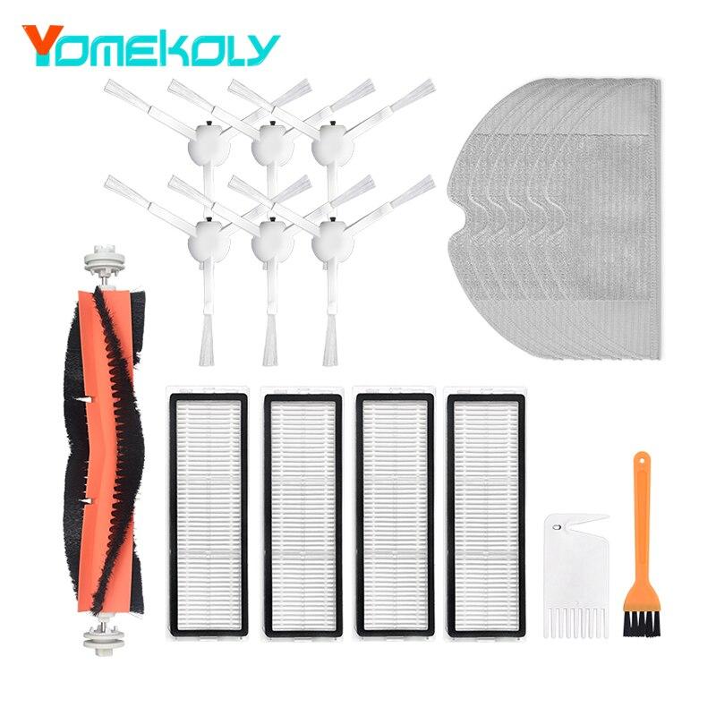 For Xiaomi Mijia 1C Smart Vacuum Cleaner Replacement Parts Kit Brush Mop Filter