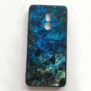 Image 5 - עבור Huawei Mate 10 פרו מקרה שיפוע מזג זכוכית קשיח טלפון Case עבור Huawei Mate 10 פרו עמיד הלם חזרה כיסוי mate10 פרו Shel