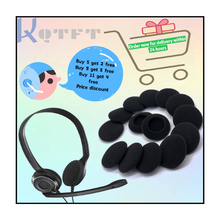 Almohadillas de esponja de repuesto para auriculares, para NOKIA BH501 BH503 BT501, Blueband, funda para auriculares de algodón, reparación de auriculares
