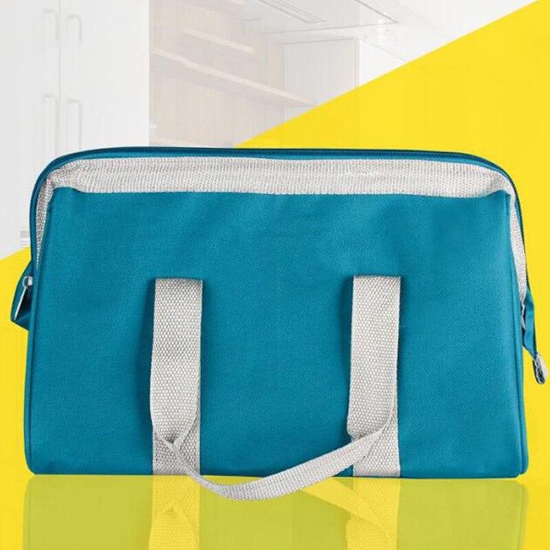 Multi-Tool Kit Heavy Duty Tool Bag Three-Dimensional Space Canvas Tool Storage Bag Waterproof Portable Tool Bag Shoulder Kit