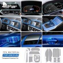 FLUGGESCHWINDIGKEIT LHD für BMW 3 Serie G20 Zubehör Spezielle TPU Auto Innen Schutz Film Aufkleber Anti Scratch Bump Beständig Film