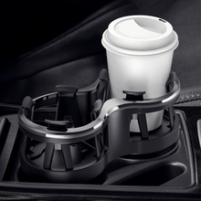Car Double Hole Water Cup Holder Multifunctional Plug-in Ext