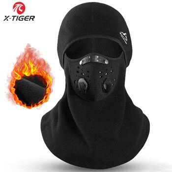Winter Ski Mask Cycling Cap Fleece Thermal Keep Warm Windproof Cycling Face Mask Balaclava Skiing Fishing Skating Hat Headwear