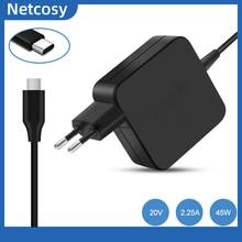 45W USB Typ C AC Adapter Ladegerät Power Für Asus ZenBook 3 UX390/Für HP Spectre x360/für Lenovo ThinkPad X1/Für Macbook 45W