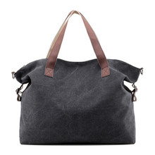 2019 Ladies Hand Bags Casual Canvas Women Bags