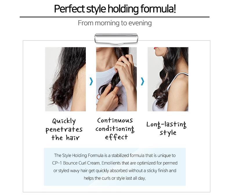 CP-1 rebond Curl crème 150ml cheveux Gel crème bricolage longue durée coiffure cheveux cire mourir ou Perm dommages réparation cheveux soins - 4
