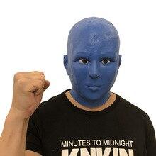 Las Vegas Blue-collar Reality Show Cos Alien Night Club Hip-hop Dance Mask Green Monster Horror Unisex Toy Latex