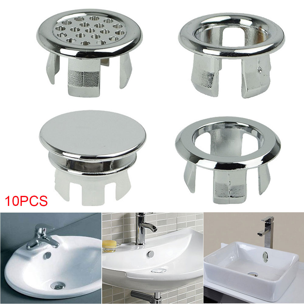 10pcs Plastic Bathroom Basin Sink