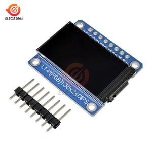 Image 4 - 1.14inch 135x240 SPI Serial TFT LCD Display Module ST7789 Drive IC IPS HD RGB LCD Screen Full View 8 Pin 135*240 3.3V SPI Port