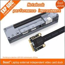 S skyee pcie pci-e pci portátil placa de vídeo independente externo doca express cartão mini versão pci-e para v8.0 exp gdc