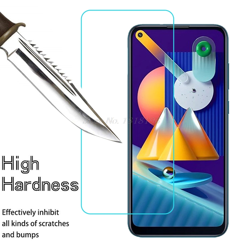 Härdat glas för Samsung Galaxy M11 skärmskydd framglas 0,3 mm - Reservdelar och tillbehör för mobiltelefoner - Foto 1