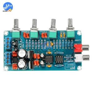 Image 5 - NE5532 Stereo Preamp Tone Board Volume Control 4 Channel HIFI Digital Amplifier AC 12V Sound Board for Telephone Preamp