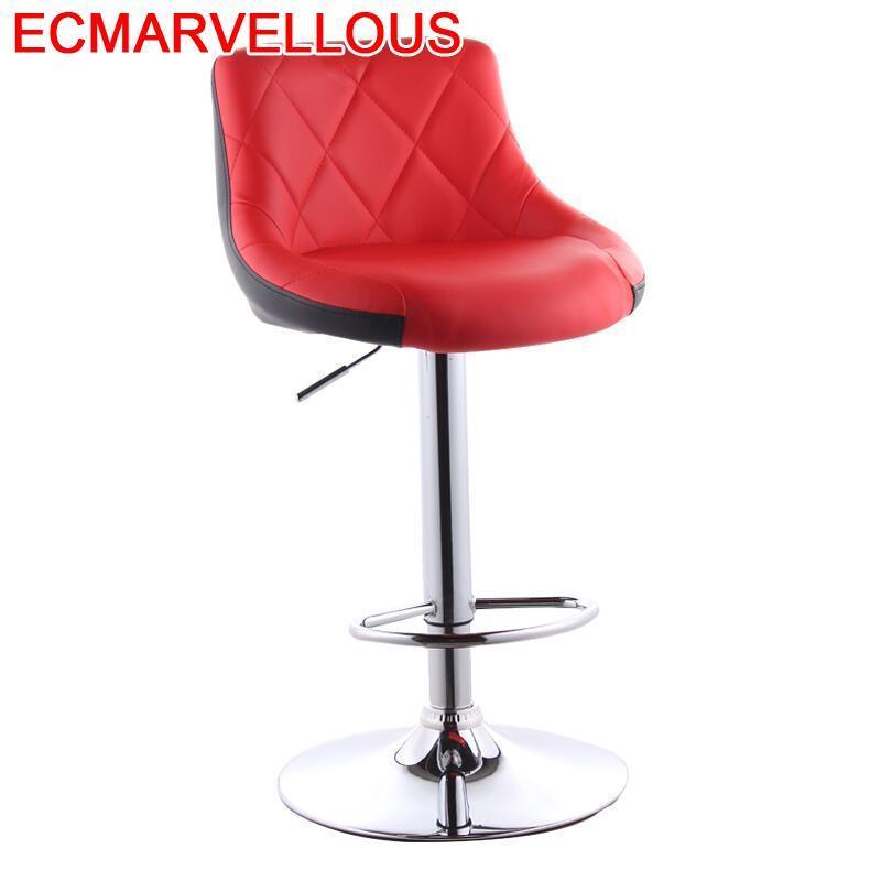 Todos Tipos Sandalyeler Comptoir Sgabello Sandalyesi Para Barra Leather Stool Modern Tabouret De Moderne Silla Bar Chair
