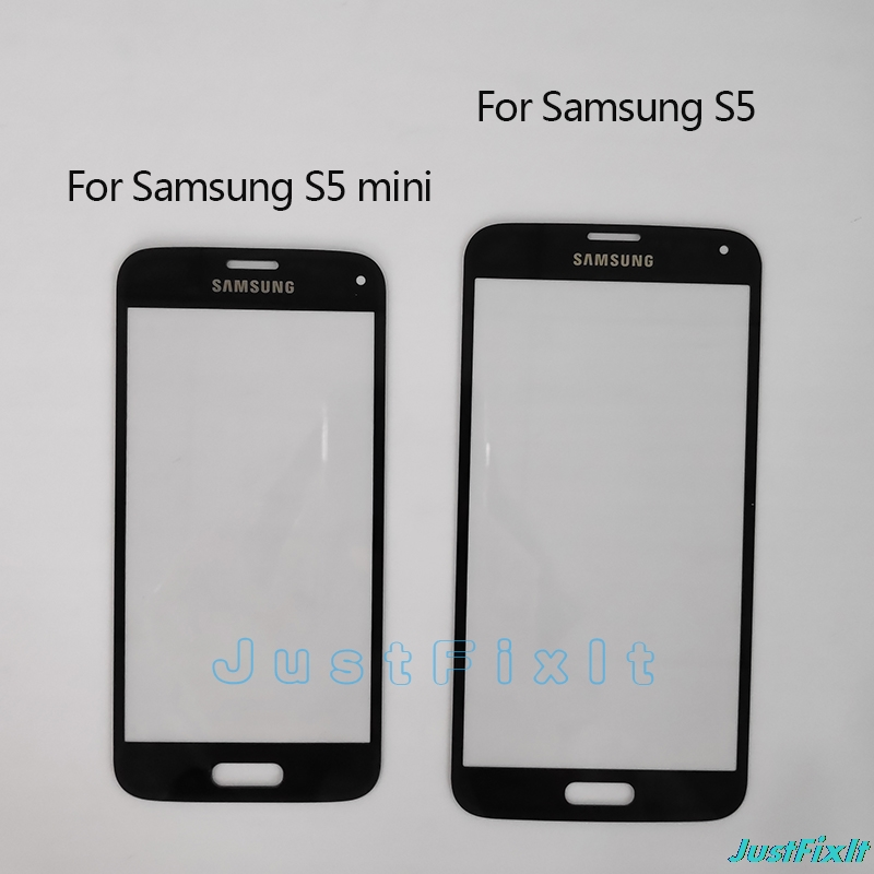 Replacement LCD <font><b>Display</b></font> Touch Screen Glass lens For <font><b>Samsung</b></font> Galaxy S5 <font><b>G900F</b></font> G900I S5 Mini G800F Touchscreen Front Outer Glass image