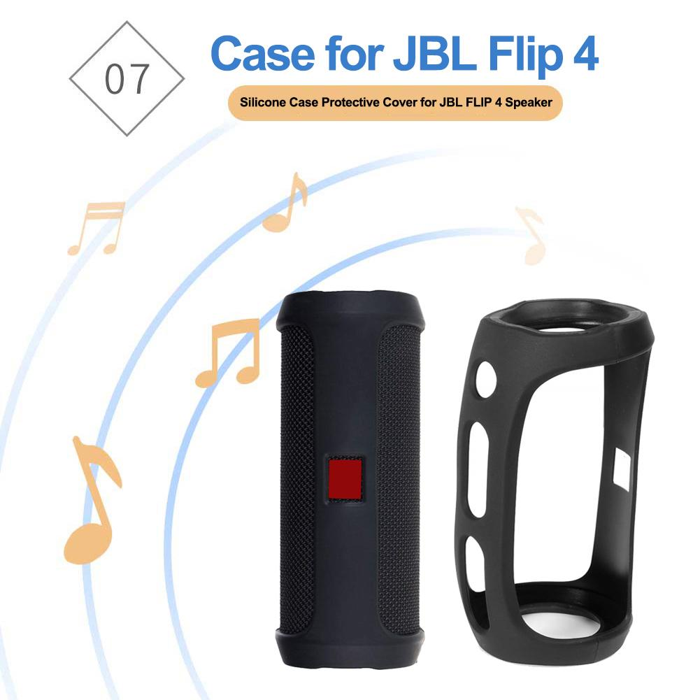 Portable Silicone Case Protective Cover For JBL FLIP 4 Speaker Mountaineering Silicone Case Cover Protector