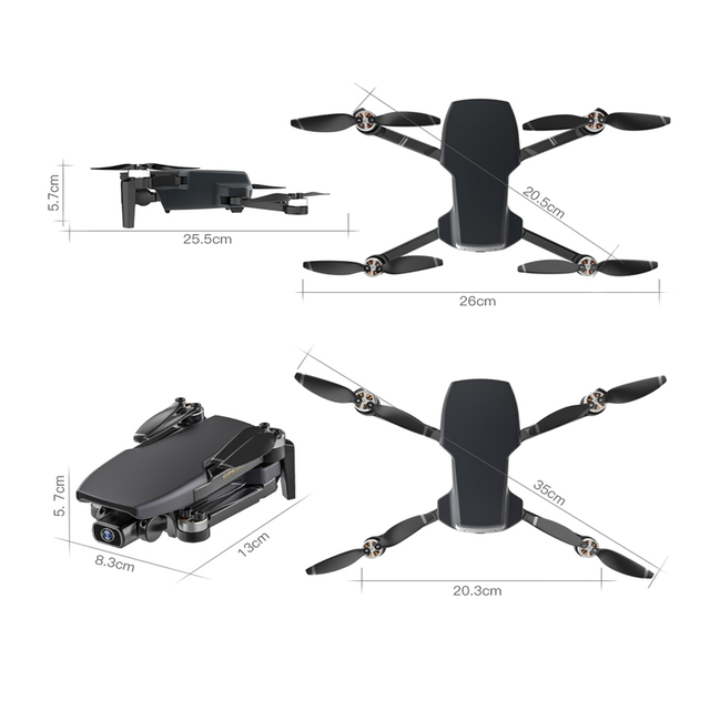 SG108 RC Mini Foldable Drone 4K 5G GPS WIFI FPV With HD Camera Follow Me Selfie Optical Flow RC Quadcopter Helicopter Toys
