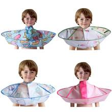 Barber Hair Accessories Kids Hair Warp Hair Cutting Cloak Umbrella Cape Gown Hairdresser Barber Apron Hairdressing Children(China)