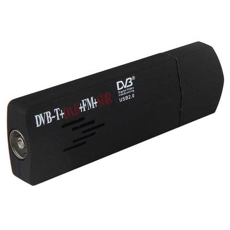 R820T + RTL2832U USB 2.0 DVB-T SDR FM DAB TV Tuner-Receiver-Stick für PC Laptop