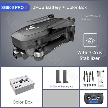 ZLRC Beast SG906 Pro 2 Brushless Motor with 3-Axis Gimbal GPS 5G WIFI FPV Professional 4K Camera RC Drone Quadcopter Dron PRO2 16