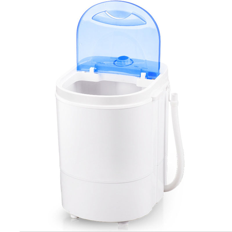 220v Clothes Mini Washing Machine Small Portable Washing Machine Low Noise Semi-automatic Single-barrel Washer For Home Dorm Hot