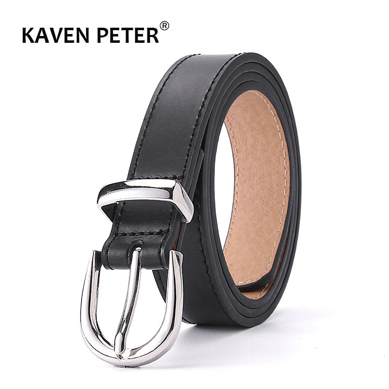 Ladies Luxury Brand Belt Designer's Leather High Quality Belt Fashion Alloy Buckle Girl Jeans Dress Belts Dropshipping