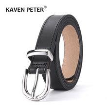 Cinturón de marca de lujo para mujer, cinturón de cuero de diseñador de alta calidad, hebilla de aleación a la moda, para vaqueros de niña, cinturones de vestir, envío directo
