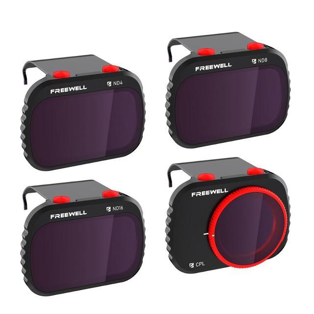 Freewell סטנדרטי יום 4K סדרת 4 מסנני חבילה תואם עם Mavic מיני/מיני 2 Drone