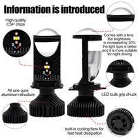 H4 H7 H1 H3 H11 H13 H27 880 HB3 HB4 9004 9007 8000Lm Ice COB 6500K 4500K Auto Fog Light T9LED Canbus Car Headlights Bulb LED 3
