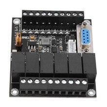 الصناعية ادوات تحكم قابلة للبرمجة PLC وحدة FX1N 14MR وحدة تحكم التتابع 24 فولت لوحة تحكم PLC