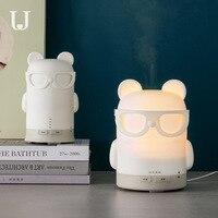 Jordanjudy Mini USB Umidificador Mudo Casa Alunos Criativos Quarto Pequeno Pulverizador de Água|Umidificadores| |  -