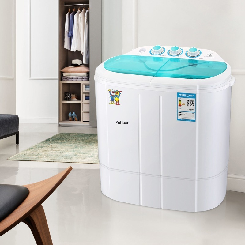 Household Washing Machine  Baby  Mini Washing Machine  Double Barrel  Blu-ray Portable Washing Machine Washer And Dryer
