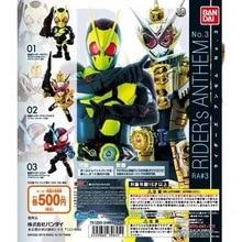 Оригинальный Bandai «наездник в маске»; Anthem NO.3 Zi с открытой пяткой и круглым Zero One Gashapon фигурка комплект