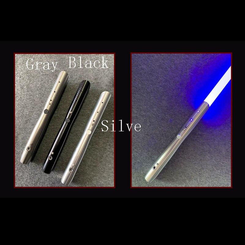 Nouveau 1 pièces Cosplay sabre laser avec son léger sabre alliage Skywalker épée 100 Cm jouet cadeau garçon cadeau d'anniversaire jouets de noël - 4