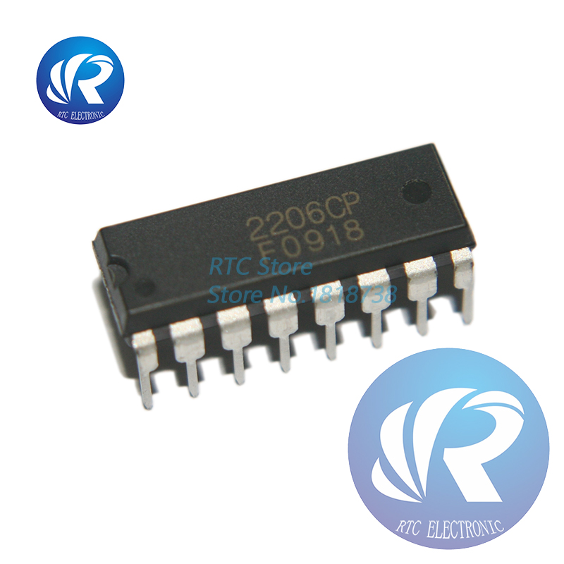 10PCS XR-2206 XR2206CP XR2206 Monolithic Generator DIP IC new