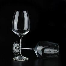 Сверкающий хрустальный бокал для вина, бокал для свадьбы, персонализированное выгравированное имя, бокал для вина, бокал для напитков, Свадебный Рождественский подарок