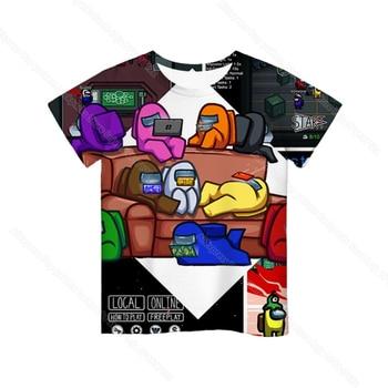 Cartoon Tee  Baby Kids Boys Girls Children Short Sleeves Summer Clothing Fashion 3d Print Toddler Camiseta 34