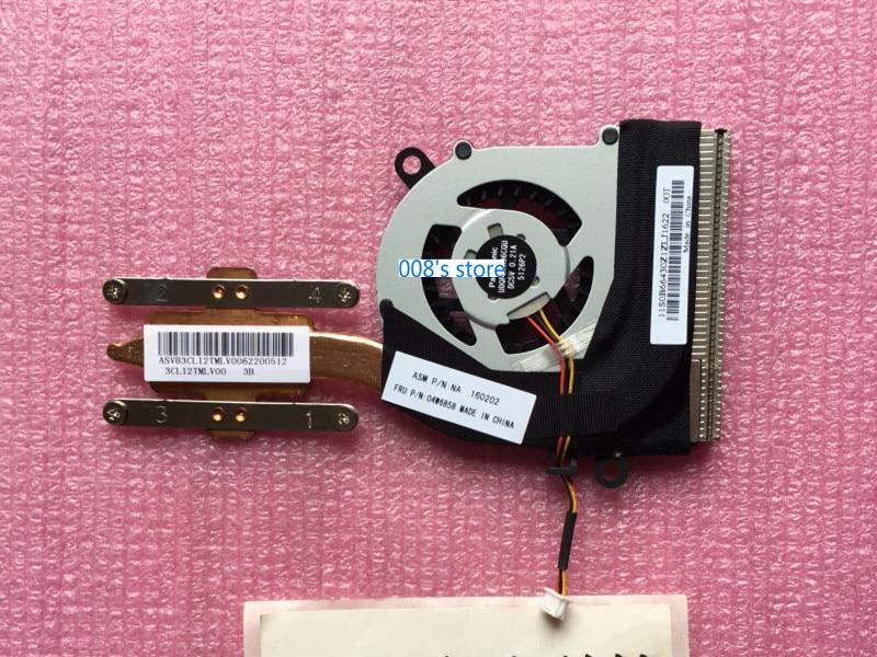 New CPU Cooler Fan Heatsink For Lenovo ThinkPad X120E X121E X130E X131E X140E E130 E135 04W2215 04W6551 04W6857 04W6858 Radiator|Fans & Cooling|   - title=