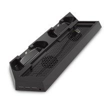 Для PS4 охлаждающий вентилятор тепловое основание под раковину вертикальная подставка для зарядного устройства Двойная док-станция контроллер зарядки для Playstation 4 PS 4 Pro/Slim