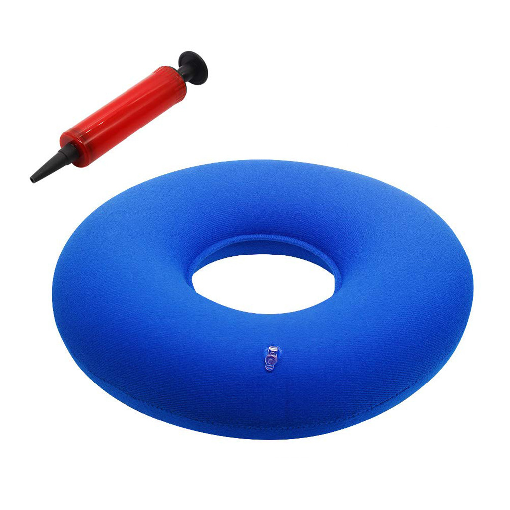 Donut Inflatable Pillow With Hemorrhoid Pillow - Lumbar Support Accessories Tool Home Dropshipping 2019 Hot Sale Supp Dropshippi